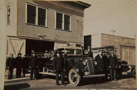 Old image of sultan fire station